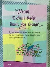 New Blue Mountain Arts Card Mom I Could Never Thank You Enough