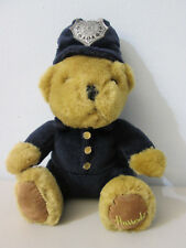 Harrods Knightsbridge Police Bear Plush Stuffed Animal 7""