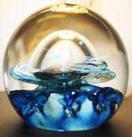 Caithness Glass Paperweight Quicksilver Colin Terris