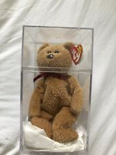 """Ty Beanie Babies """"Curly"""" Bear 1996 RARE! Many Tag Errors! Highly desired!"""