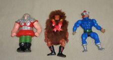 Lot Of 3 Vintage 1980's MOTU He-Man Figures