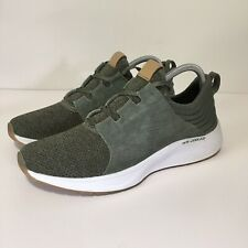Skechers Women's Skyline Olive/White Memory Foam Sneakers Shoes Size 10