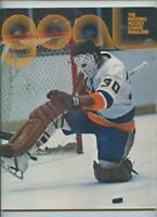 December 16 1973 NHL Hockey Program Philadelphia Flyers New York Islanders GOAL