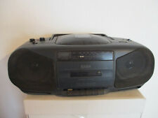 SABA RCD 500 Portable Stereo CD System Radio Cassette Recorder Boombox