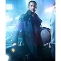 Officer K Ryan Gosling 2049 Blade Runner Long Trench Cotton Coat Jacket