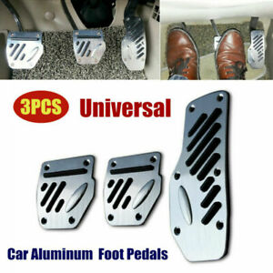 3Pcs/Set Universal Car Accelerator Pedal Foot Pedals Pad Cover For Brake Clutch