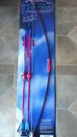 "NEW KIDS 34"" TOY FIBERGLASS BOW AND ARROW  ARCHERY YOU CHOOSE BOY OR GIRL SET"