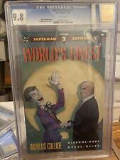 Worlds Finest #1, #2 , #3 1990 CGC 9.8
