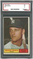 ROGER MARIS 1961 Topps Baseball #2 ~ BSG 5