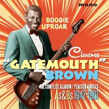 "Clarence ""Gatemouth"" Brown - Boogie Uproar: The Complete Aladdin/Pe..."
