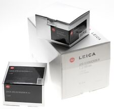 Leica Apo-Summicron-R 1:2/180mm 11354 rare lens Extender 2x R adapter M Box kit