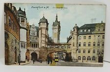 Frankfurt Das neue Rathaus Germany Vintage Postcard
