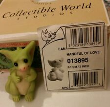 Rc � Pocket Dragons Dragon * �Mint in Box� * Handful of Love * 2003