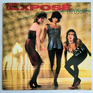 FREESTYLE - EXPOSE - EXPOSURE LP - ARISTA RECORDS ORIGINAL PRESSING
