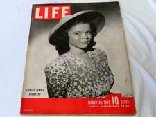 1942 Life Magazine Shirley Temple Grows Up March 30 Vintage Ads