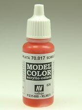 Vallejo 70817 Model Color Scharlachrot, Matt, 17 ml