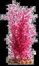 Aqua One A1-28229 Plastic Plant Pink Ludwigia/Blyxa w/ Gravel Base (XL) Aquarium