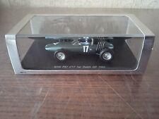 1/43 Spark Minimax s1625 BRM P57 Graham Hill F1 World champion 1962 Dutch GP