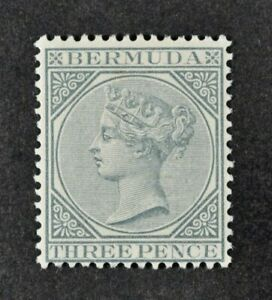 BERMUDA, QV, 1886, 3d. grey value, SG 28, LMM condition, Cat £23.