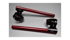 Coppia Semimanubri AVDB Rialzati e Inclinabili Rosso 53mm DUCATI 1198 2009-2011