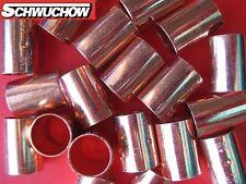 50 Kupfer Muffe 15 mm 5270 Kupferrohr Lötfitting Kupferbogen CU Fitting Anschlag