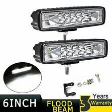 """2x 6Inch 36W Led Work Light Bar Spot Offroad Atv Fog Truck Lamp 4Wd 12V 6"""""""