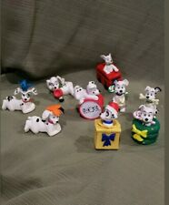 Disney 101 Dalmations McDonald's Happy Meal Toys 1996 (9 in Total)