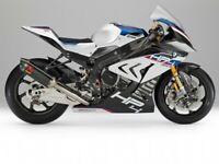 BMW S1000RR HP4 race sticker set belly pan tank fairing adesivi aufkleber decal