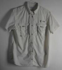 Woman's Columbia PFG  Shirt Size XL SS white vented