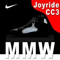 NIKE X MMW JOYRIDE CC3 SETTER TECH WEAR REFLECTIVE JOGGING BLACK 11 - MSRP $200