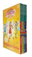 Rainbow Magic Fairies 7 Books Box Set Daisy Meadows  Colour Fairy Kids Girl  New