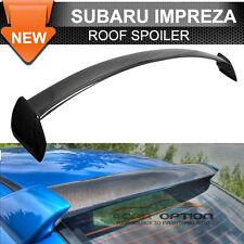 Fits 02-07 Subaru Impreza WRX STI Roof Spoiler Carbon Fiber CF With FRP Sides