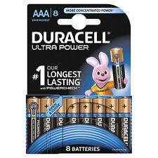 Duracell Ultra Power AAA LR03 Batteries | 8 Pack