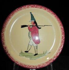 Hand Painted Syracuse Econo-Rim 6&1/2 Plate BRITISH SOLDIER Restaurant Ware 1937