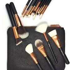 Pro New 2017 Hot 15 Pcs Make Up Brush Cosmetics Eye Foundation Kit Sets + Bag