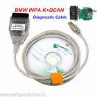 New Car Diagnostic Tool Cable OBD2 OBDII Scanner INPA/Ediabas K+DCAN USB For BMW