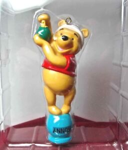 Disney WINNIE THE POOH ORNAMENT Trimming the Tree New in Box Free Ship