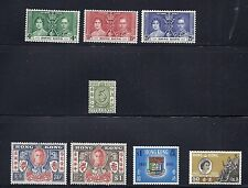HONG KONG 1937-1962 (5 different sets including F8) F/VF MH