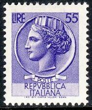 ITALIA 1968/1969 -  SIRACUSANA FLUORESCENTE - L. 55 - MNH