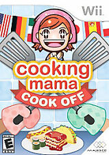 Cooking Mama: Cook Off For Wii Good Multiplayer Kitchen Video Game Complete