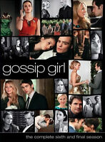 Gossip Girl: Complete Season 6 Box Set DVD Series six very good condition