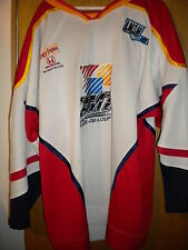 LNAH AHL   2009-10 RIVIÈRE-DU-LOUP CIMT PHILIPPE LAUZE  GAME WORN HOCKEY JERSEY