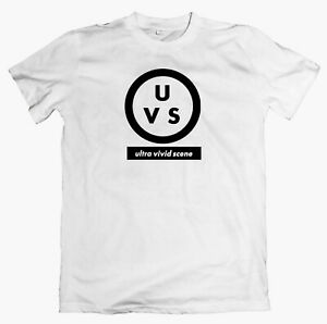 ULTRA VIVID SCENE 'Logo' T-shirt pale saints galaxie 500 house of love ride lush
