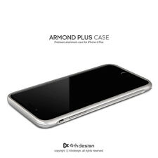 4thdesign ARMOND CASE  Al case for iPhone 6 Plus, Silver -No return, no exchange