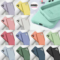 Liquid Silicone Shockproof Case Cover For iPhone 12 Mini 12 Pro Max 11 XR XS X 8