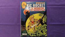 Livre BD Vintage « Ric Hochet – Le Monstre De Noirville » 1983 Très Bon Etat.