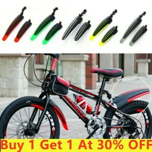 1pc Bicycle Cycling Front Rear Mudguards Mud Set Mountain Bike Tire Fenders Tool