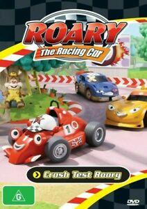 Roary The Racing Car Crash Test Roary DVD 2010 Brand New & Sealed