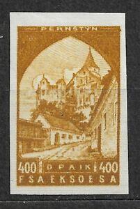 Czechoslovakia, Not issued proof  400heller