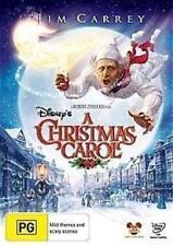 A CHRISTMAS CAROL Jim Carrey, Robert Zemeckis DVD NEW